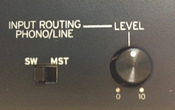 INPUT ROUTING
