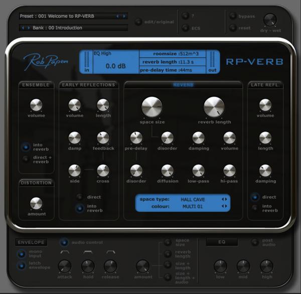 RP-VERBソフトウェア画面