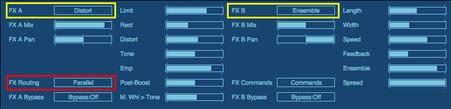FX側も並列に設定