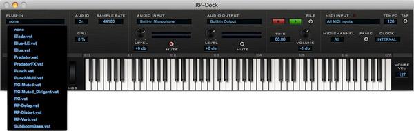 RP-Dock プラグインスタート