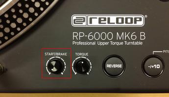 RP-6000 MK6のブレイキング調整
