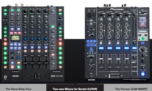 Serato DJ1.5対応DJミキサー