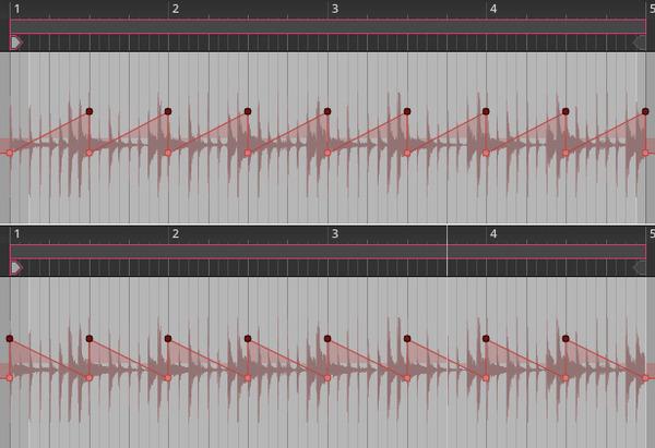 三角波からノコギリ波