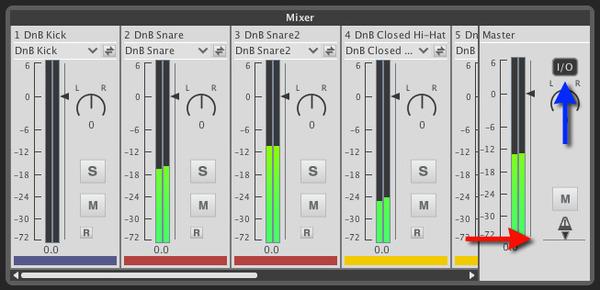 Liquid Rhythm Mixer