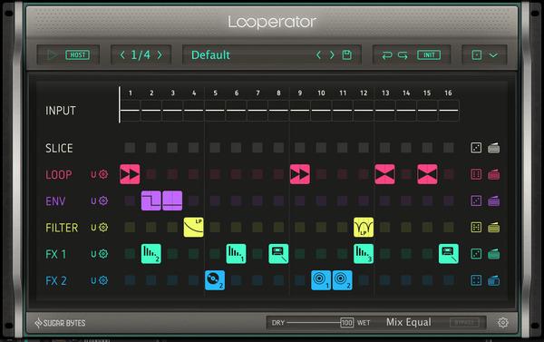 Looperatorインターフェイス