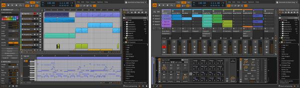 Dual Display(Arranger/Mixer)