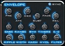 BLADE:ENVELOPEコントロール