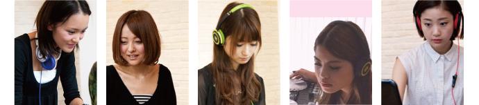 美人DJたち