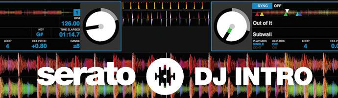 Serato DJ Intro バナ
