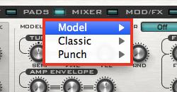 Rob Papen PUNCH ドラムシンセ・モジュール