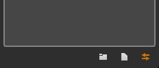 Studio I/O Panel表示アイコン