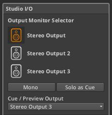 Studio I/O Panel