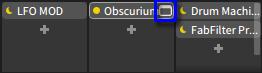 ミキサーからGUI表示