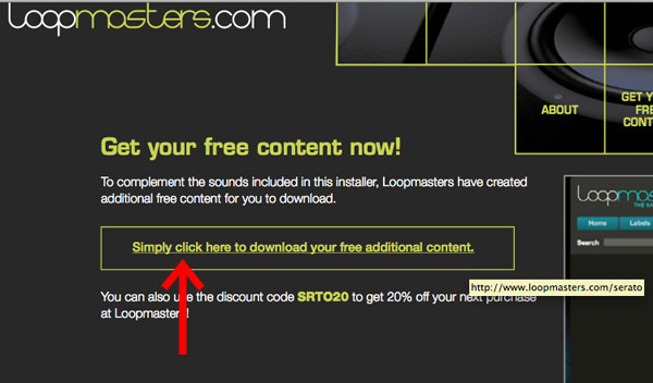 Simply click here to download your additional content