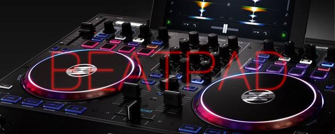 Beatpadヘッダー