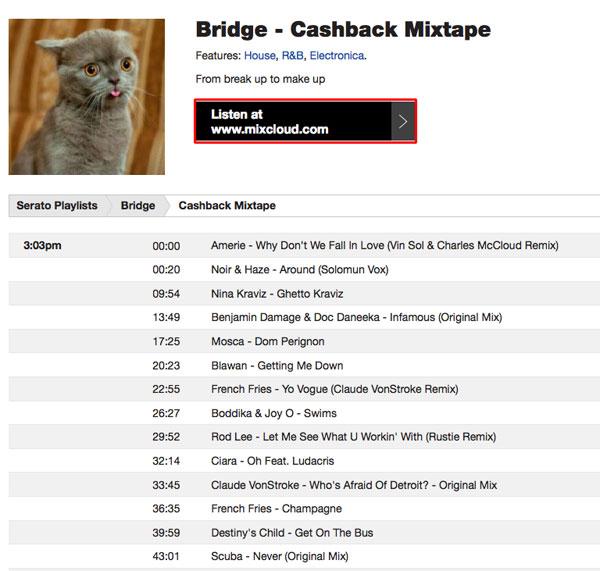 自身のミックス音源を公開しているユーザー