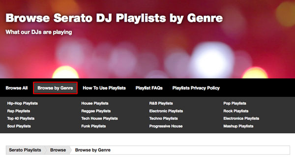 Browse by Genre