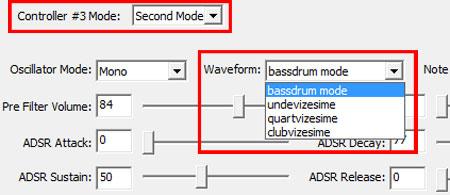 bassdrum mode