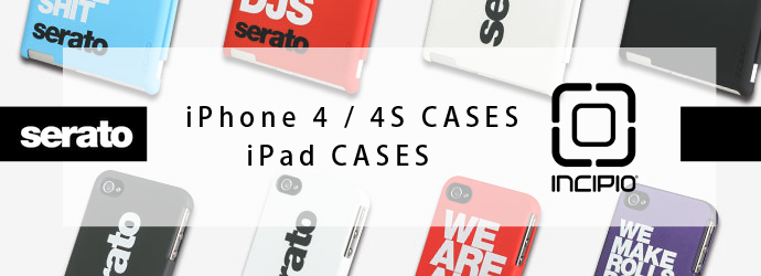 INCIPIO iPhone 4 / 4S CASES iPad CASE バナー