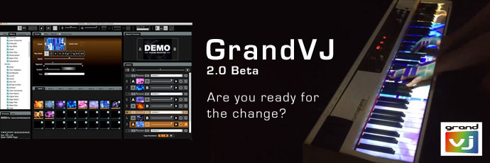 GrandVJでビジュアルジョッキング!その12