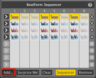 BarForm Sequencer