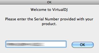 Virtual DJ LE インストール手順 Mac 10