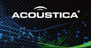 Acousticaロゴ