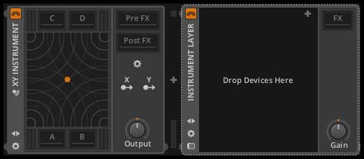 XY Instrument・Instrument Layer