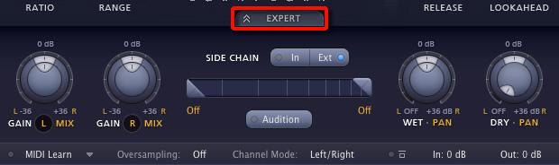 Pro-G Expertモード