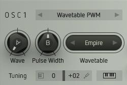 Wavetable PWM