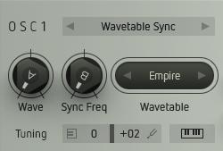 Wavetable Sync