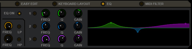 Layers / EQ