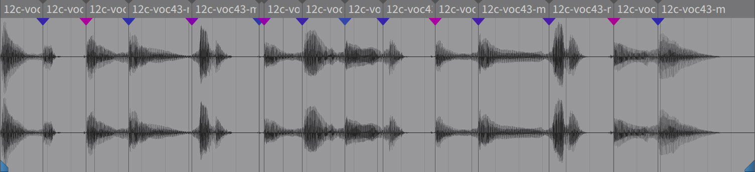 オーディオ波形