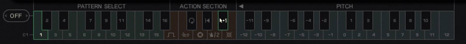 キーボード・コントロール・セクション