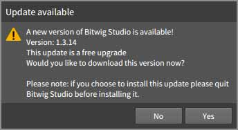 Update available