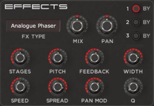 Analogue Phaser