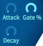 Gate/Attack/Decay