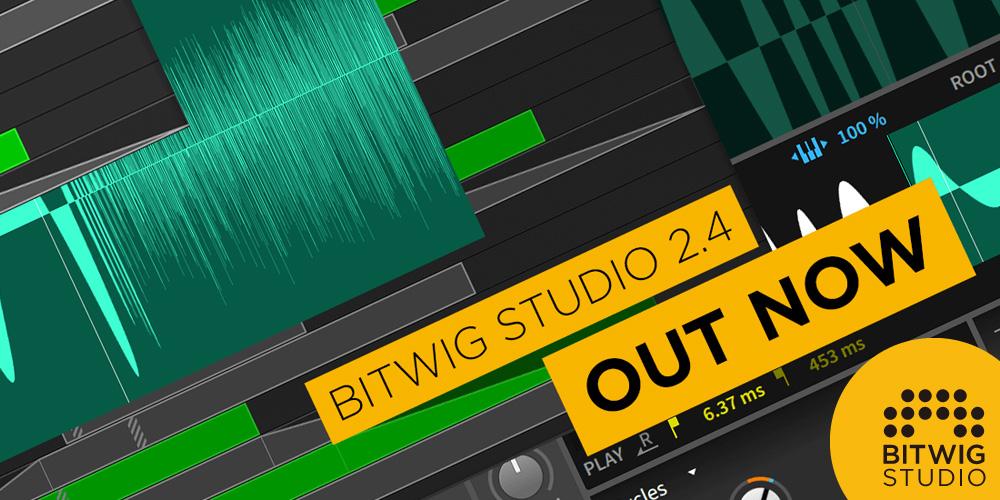 Bitwig Studio 2.4!