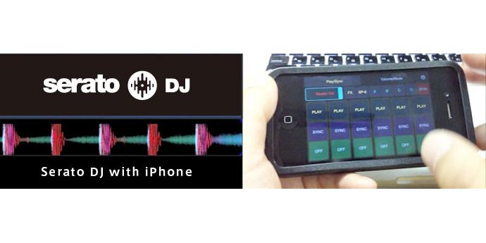 iPhoneでSerato DJのSP-6をコントロール