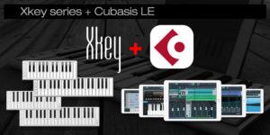 Xkey + Cubasis LE 2