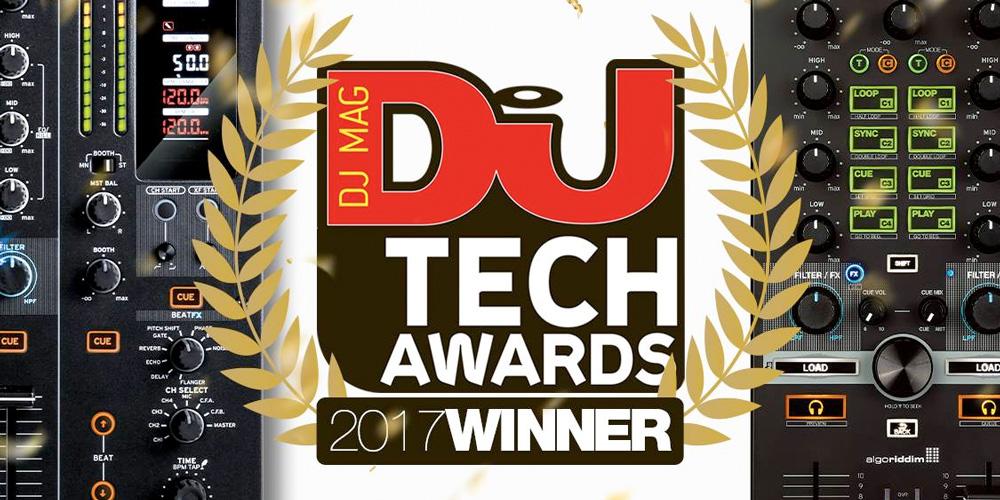 【受賞】DJ Tech Awards 2017