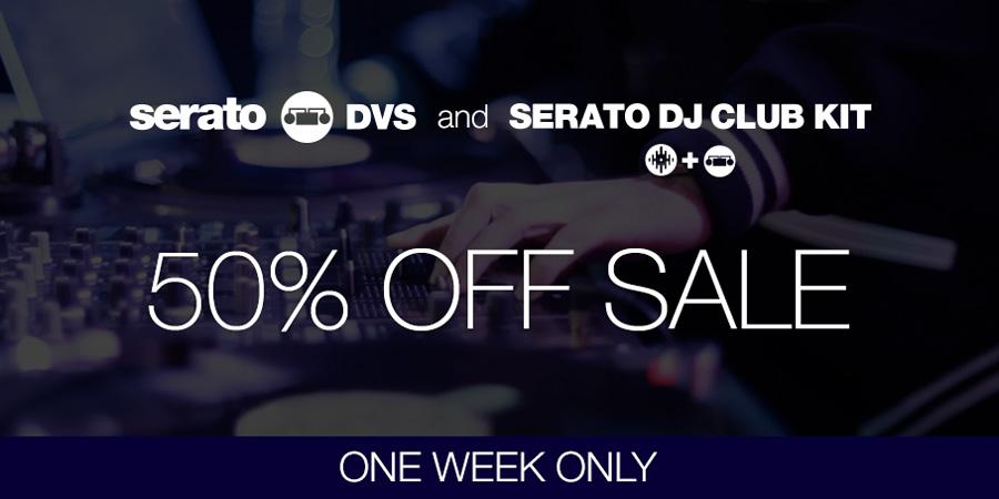 Serato DJ Club KIT / DVS が 50%オフ【期間限定】