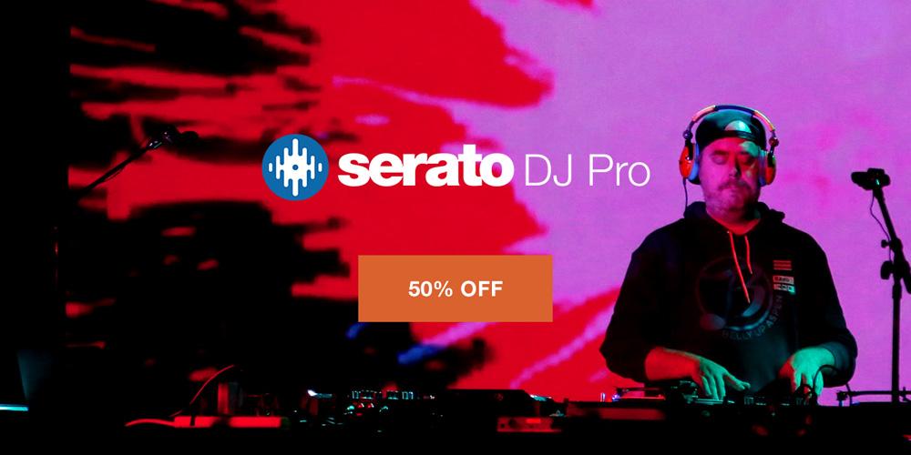 【セール】Serato DJ Pro 令和最初の年末年始半額セール!【期間限定】