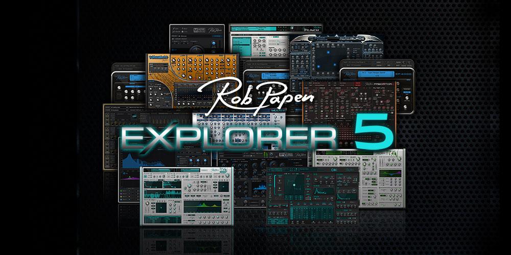 【新製品】Rob Papen「eXplorer 5」発売のご案内