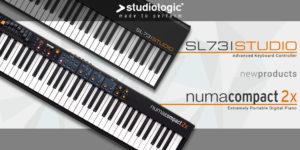 【新製品】Studiologic「Numa Compact 2x」「SL73 Studio」発売のお知らせ