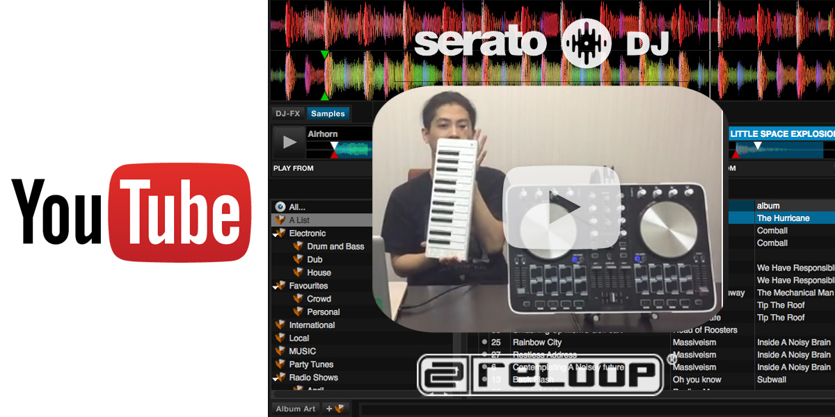 【DJ連載-9-】 SeratoDJ × Xkey AirでワイヤレスDJ!?MIDIアサインでお好みカスタマイズ!