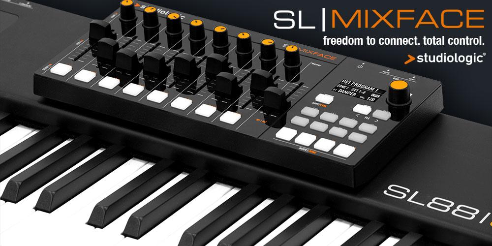 Studiologic 新製品「SL Mixface」発売のお知らせ