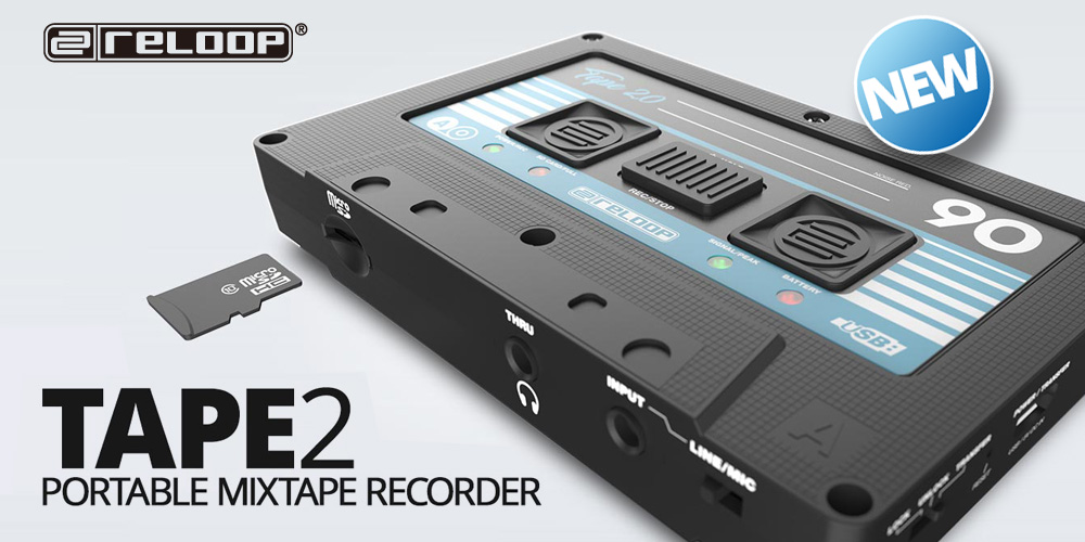 Reloop 新製品「TAPE 2」発売のお知らせ