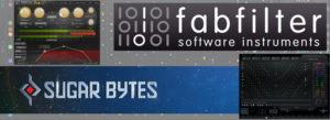 【新発売】FabFilter社/Sugar Bytes社のDAW用プラグイン