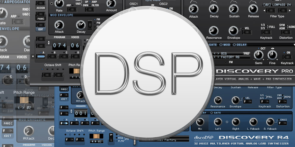 【discoDSP】Discovery / Discovery Pro発売開始のご案内